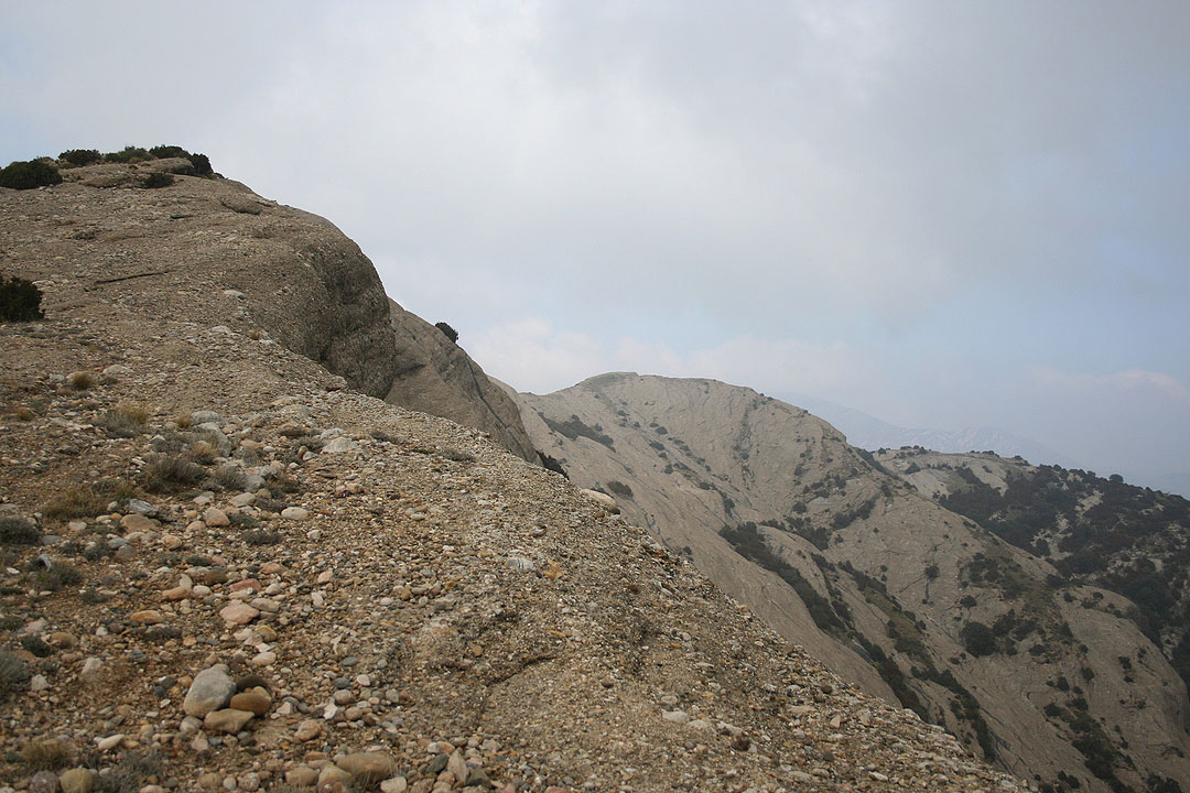 Cresta de la punta Ligüerre