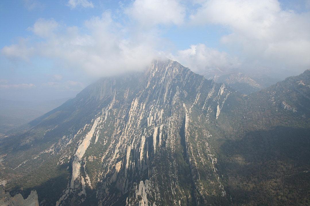 El Fragineto desde la cima del Borón