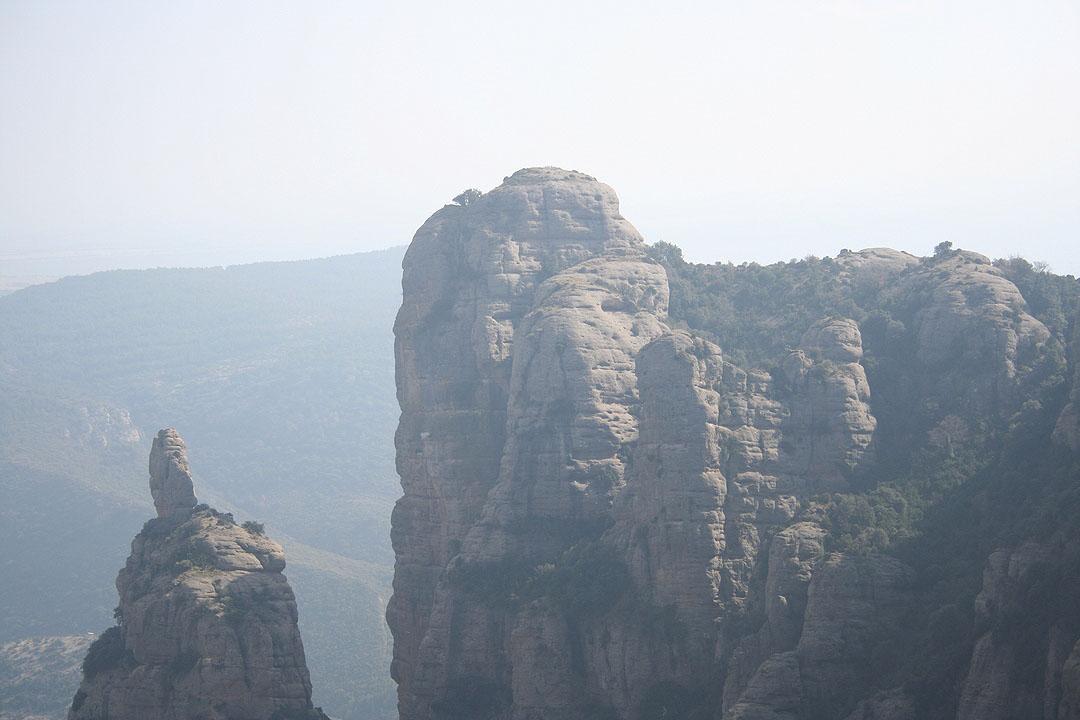 Vista de la Peña San Jorge