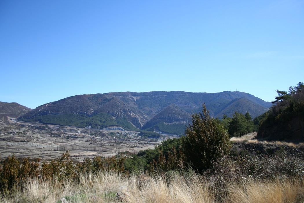 Vista del pico del Aguila