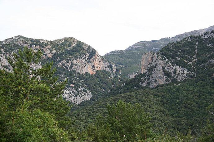 Valle posterior a las Gargantas de la Fabana