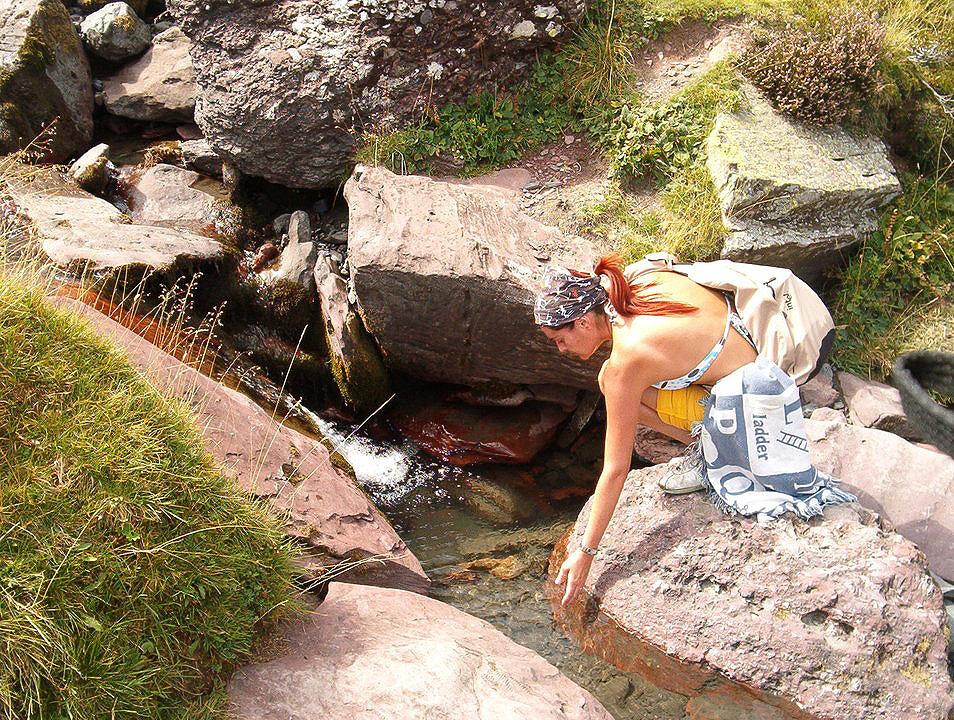 Agua en el barranco de Culibillas