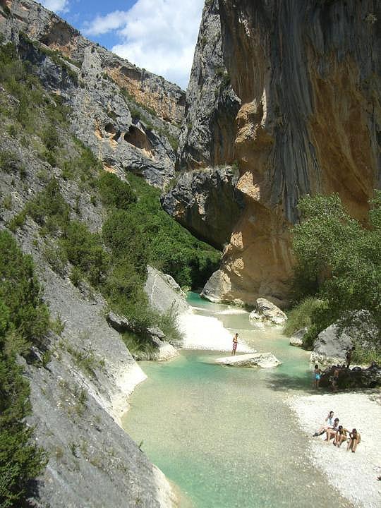 Río zona de Villacantal