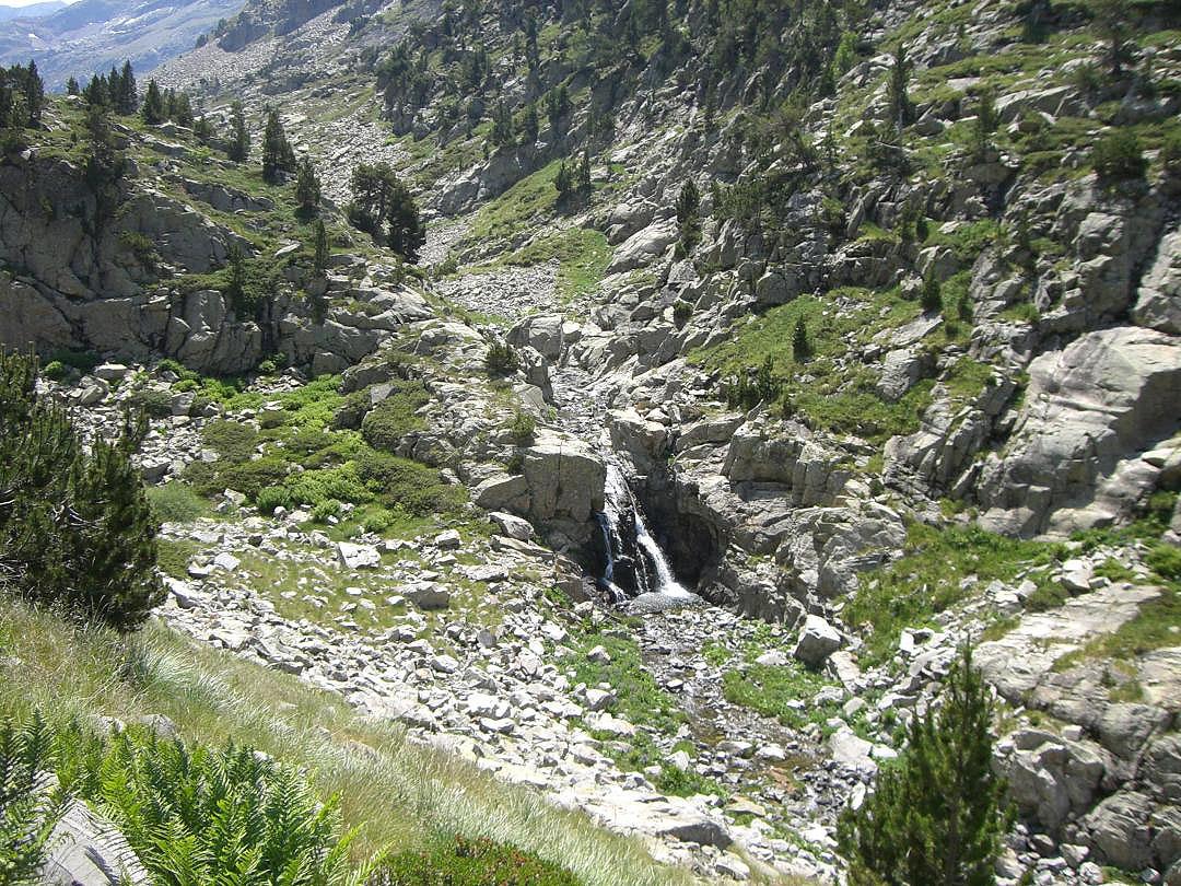 Cascadas de río Aguas Limpias