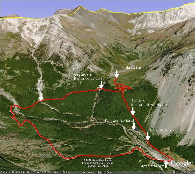 Monte Rio Ca >> Pineta - Llanos de La Larri | Excursiones por Huesca