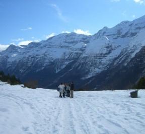 Valle de Pineta desde La Larri
