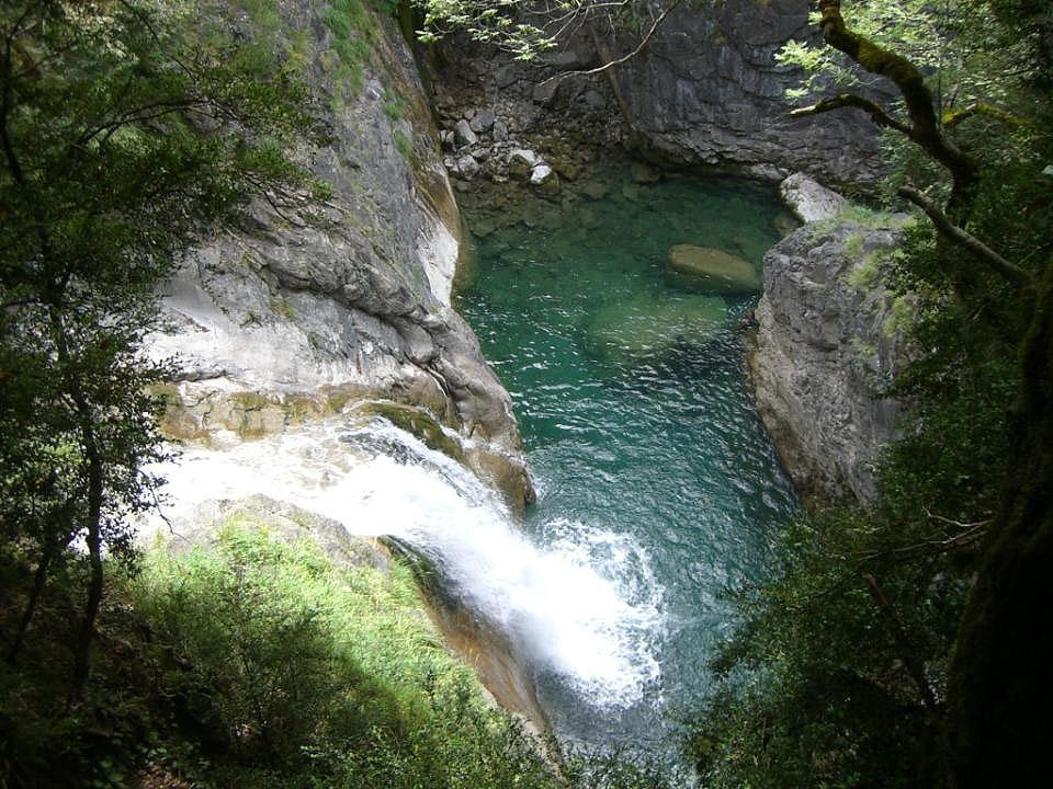Cascada río Bellos