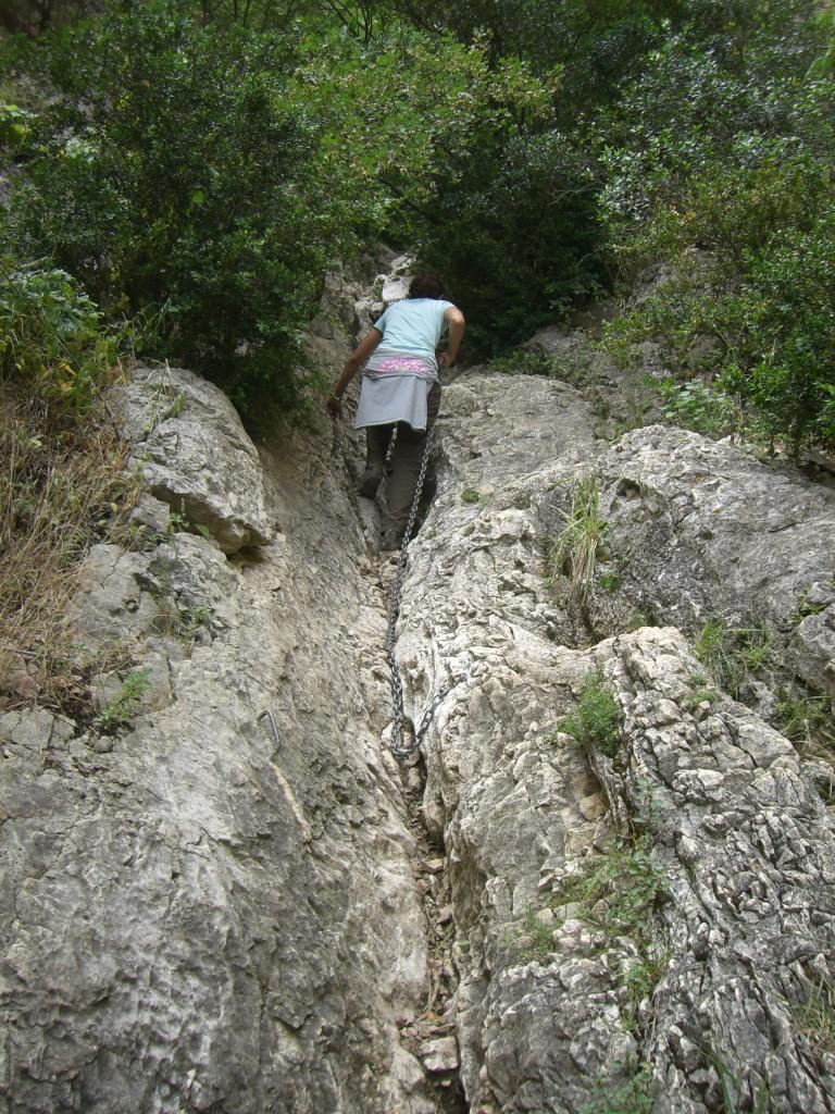 Subida a la Cueva Colomera