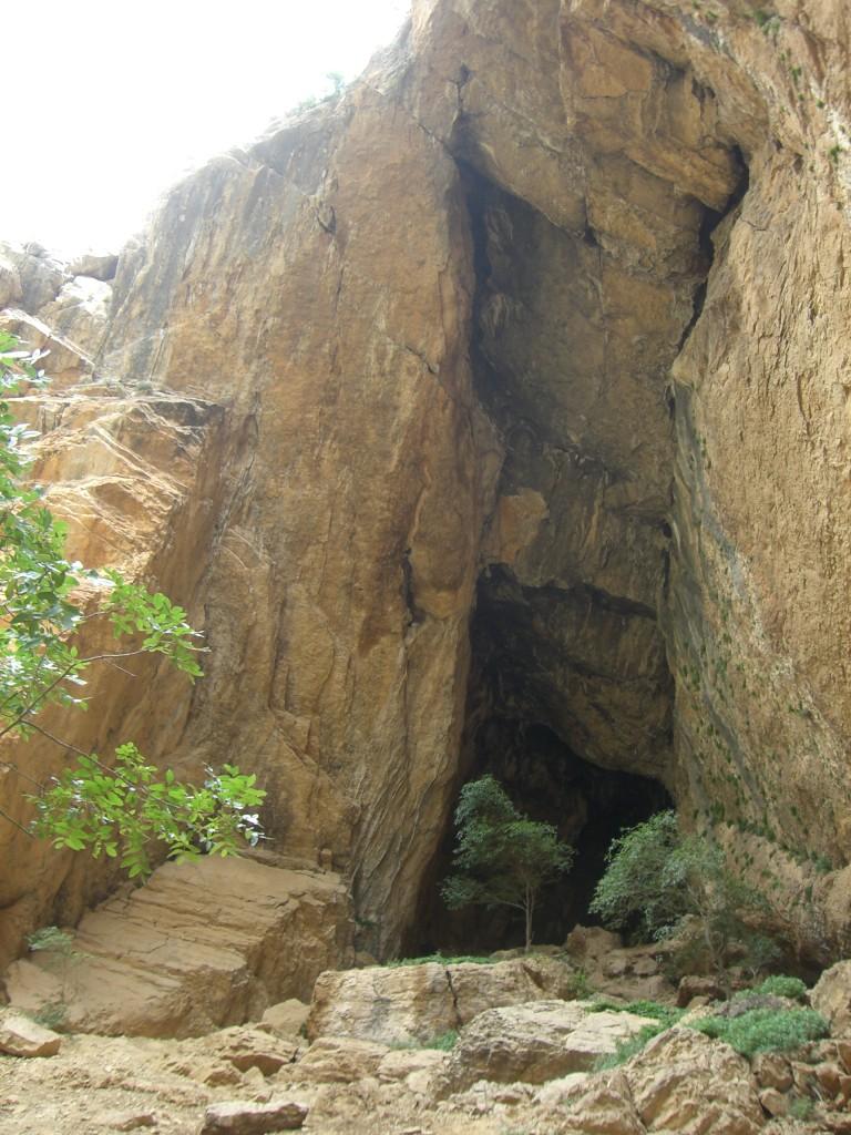 Entrada a la Cueva Colomera