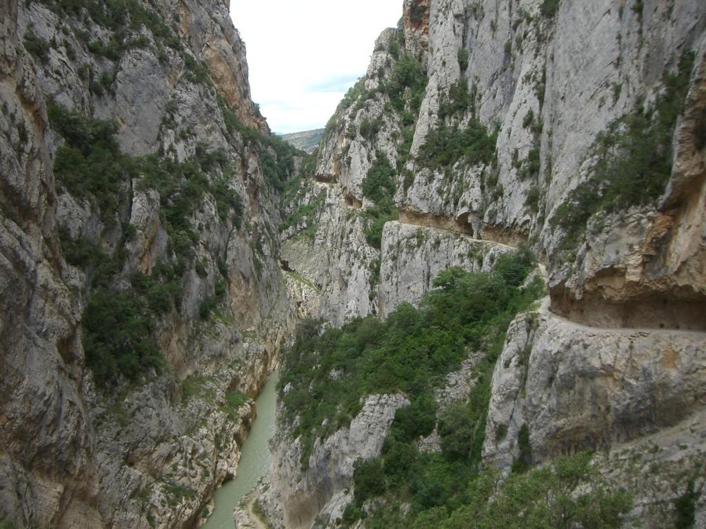 Ultimo tramo de Mont-rebei