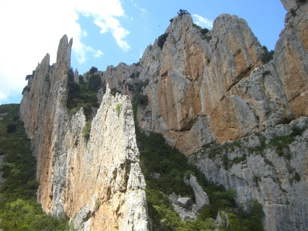 Formaciones rocosas de la Foz
