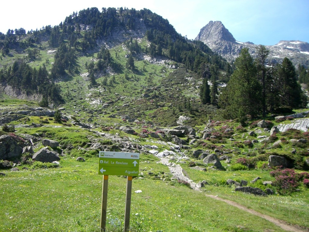 Cruce caminos La Renclusa / Aigualluts