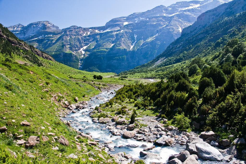 Llanos desde las Cascadas de La Larri