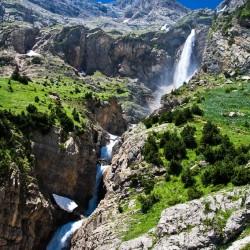 Pineta - Cascadas del Cinca - Llanos y cascadas de La Larri