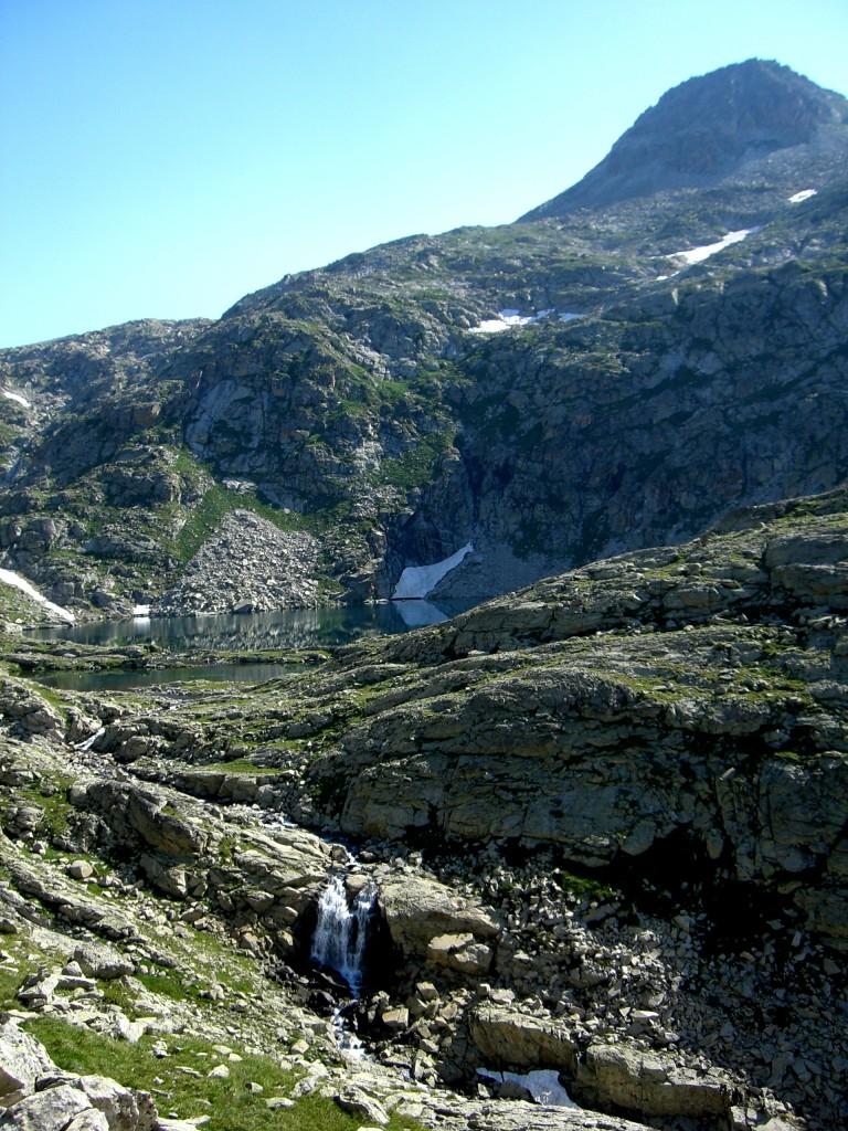 Cascada del barranco de los ibones y ibones de Eriste