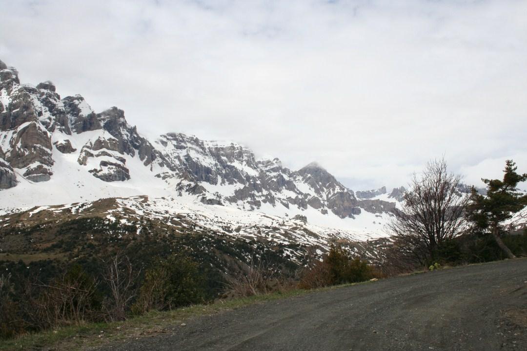 Sierra de la Partacua desde la pista