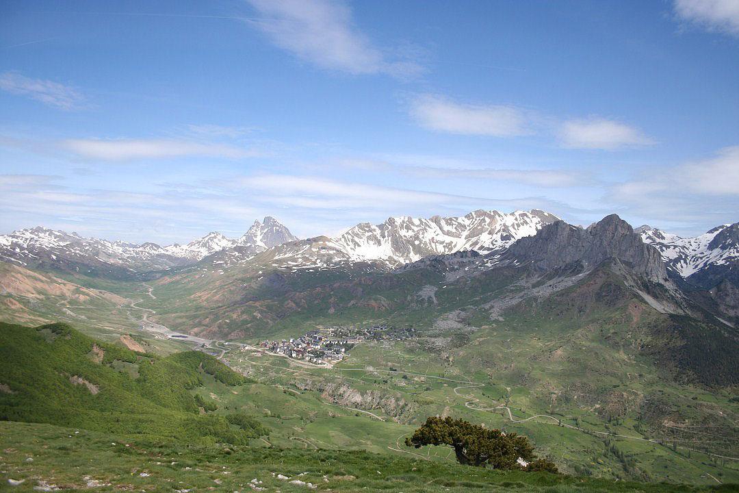Vistas de Formigal, Midi Osseau, y Peña Foratata