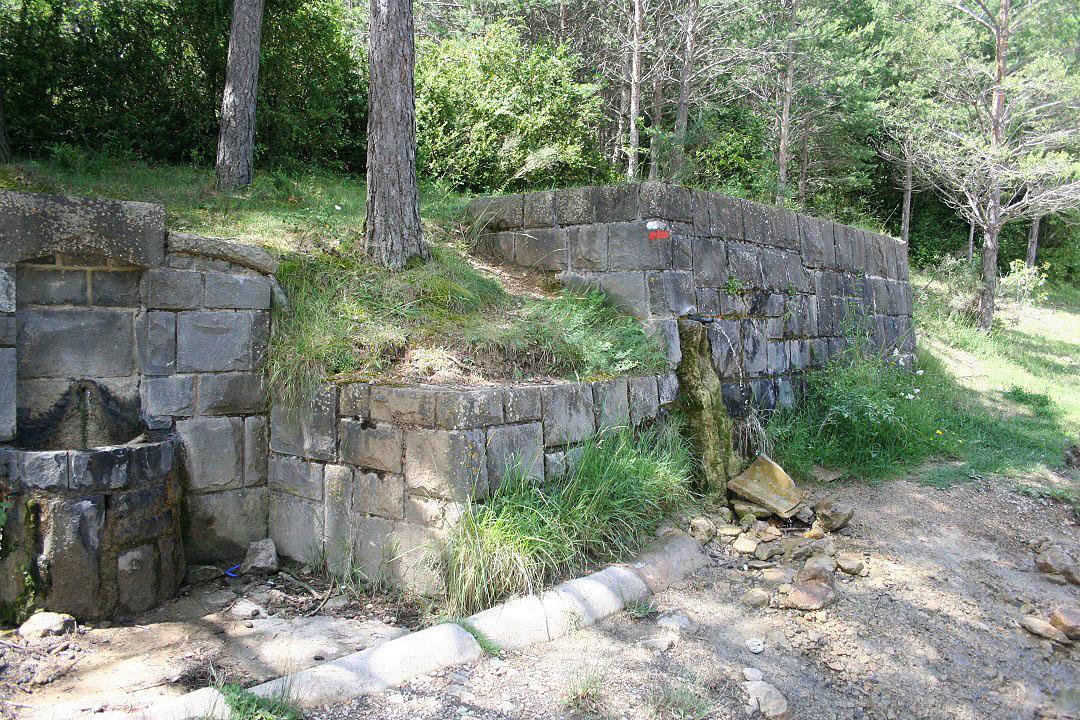 Vista completa de la fuente