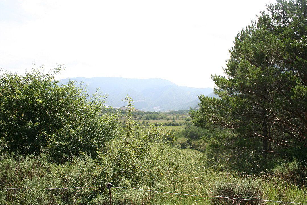 Vista del pico del Aguila desde la pista