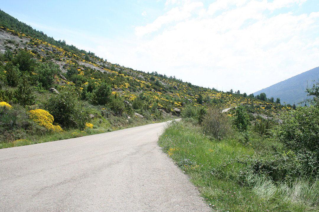 Carretera de bajada