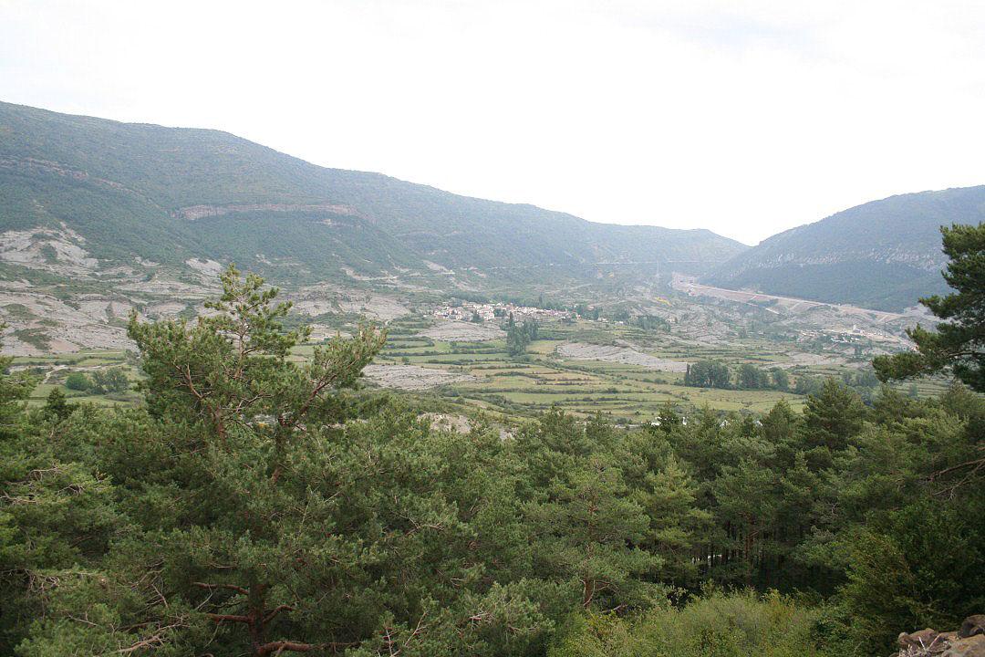Vista de la localidad de Arguis