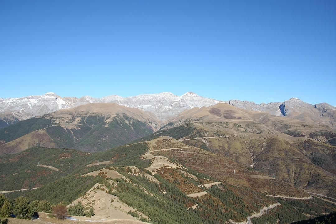 Sierra de Tendenera, Pico de Toronzué y Bachesango