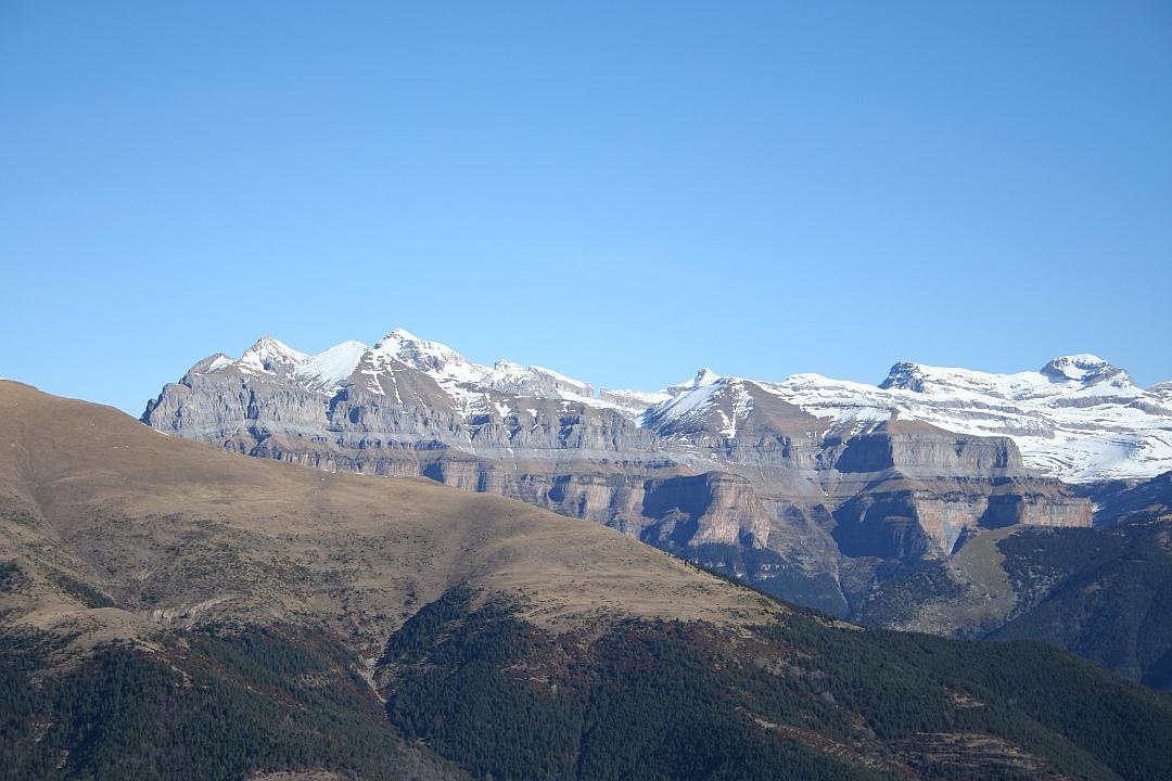 Fantastica vista de la zona alta del Valle de Ordesa