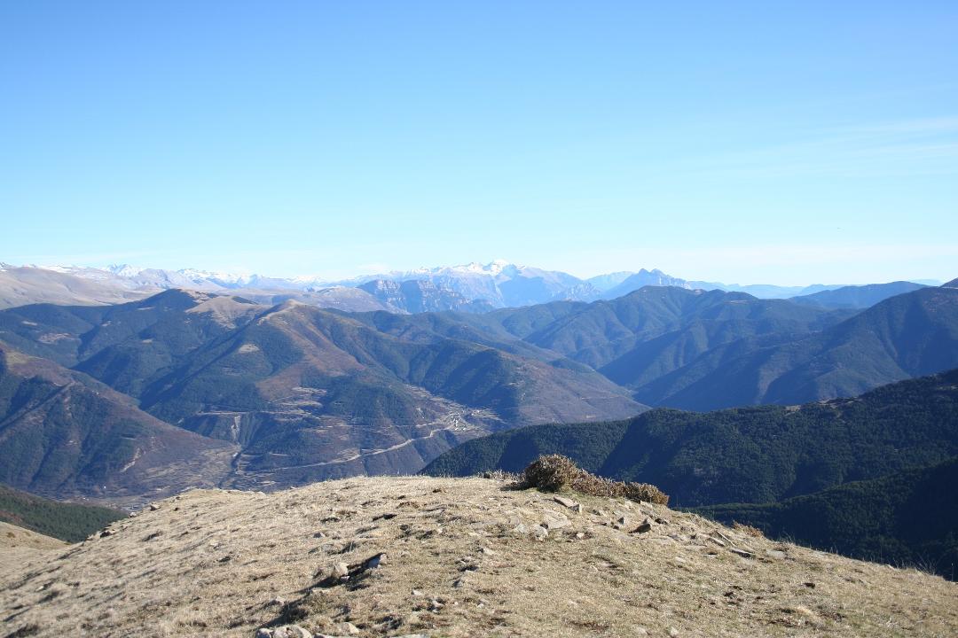Vista de las zonas altas del Valle de Benasque