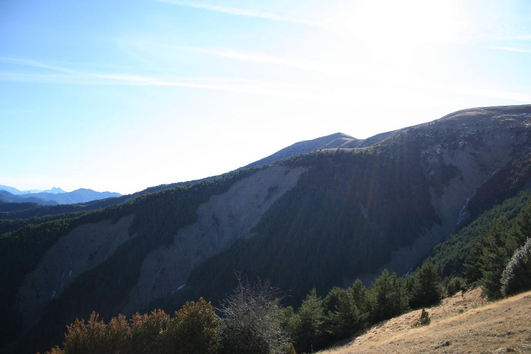 Primera vista del pico Pelopin