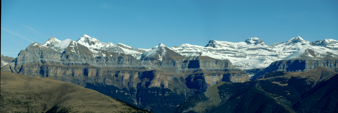 Panoramica del Valle de Ordesa