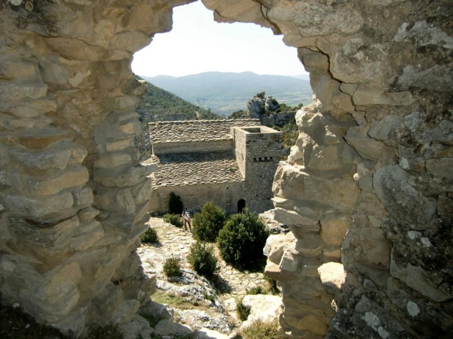 Ermita desde el castillo