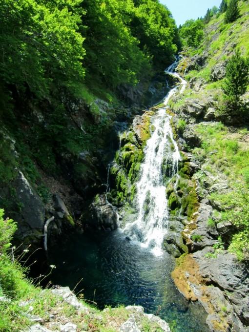 Cascadas en el río Ordiso