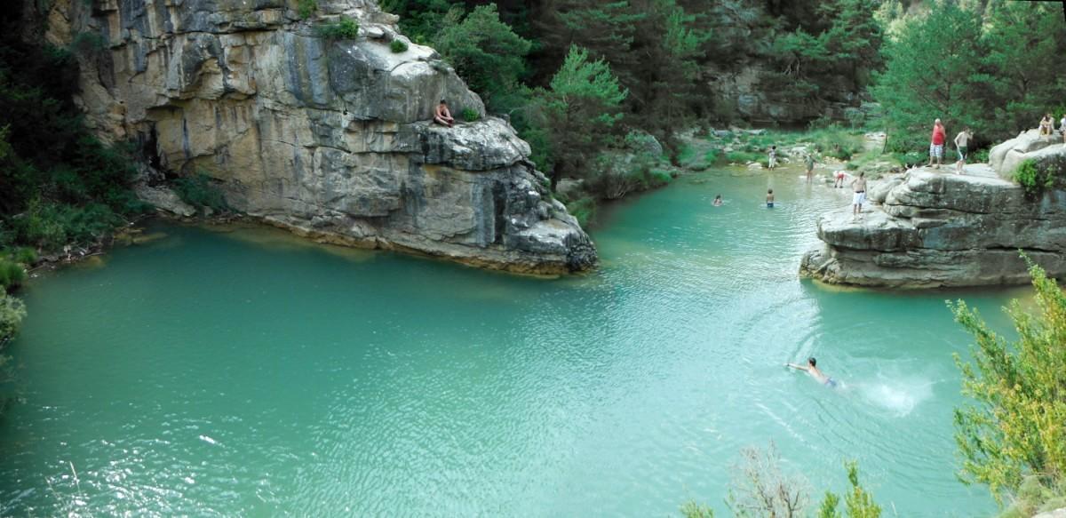 Reserva Natural Fluvial Río Arba de Luesia en su cabecera
