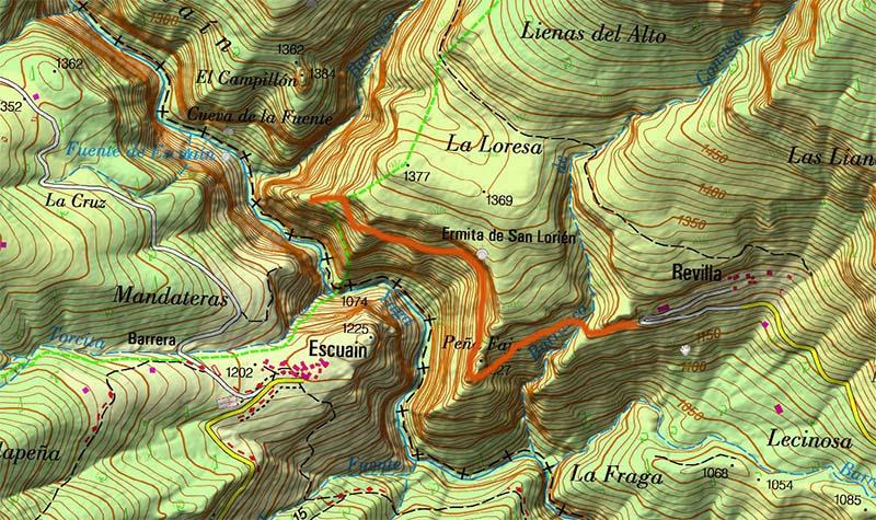 Balcones de Revilla- Mapa