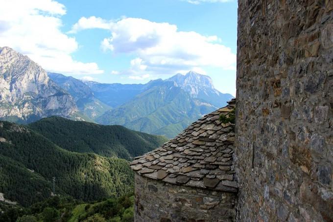 Peña Montañesa desde la Ermita