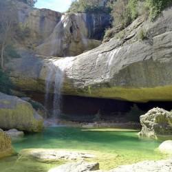 Cascada del Confesionario y las Pozas de San Martín