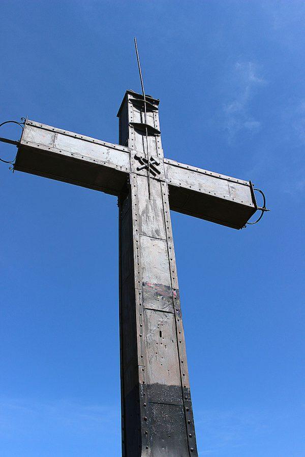 Detalle de la Cruz de Oroel