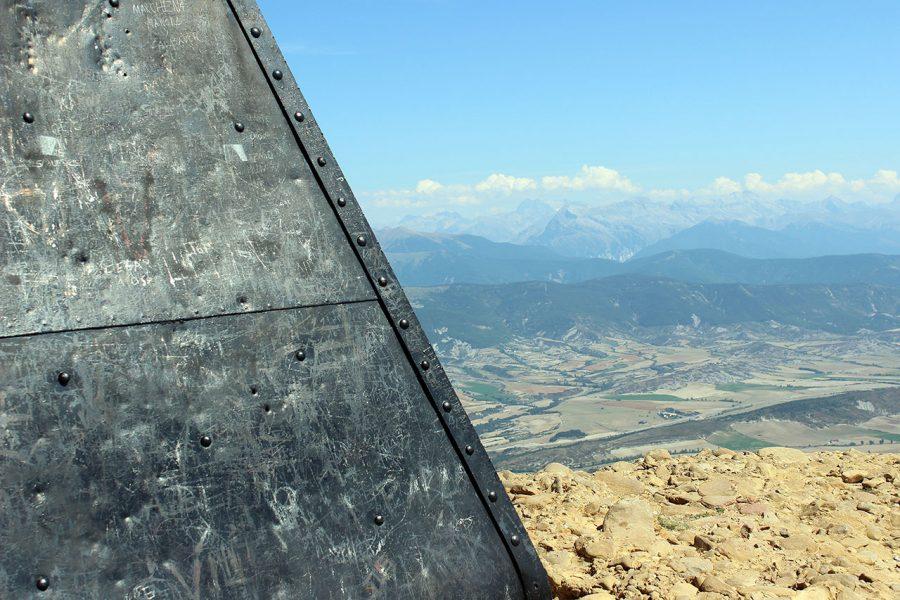 Vista de la sierra de Baraguas