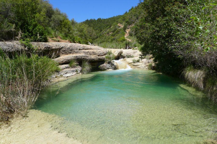 Poza en el Barranco Formiga