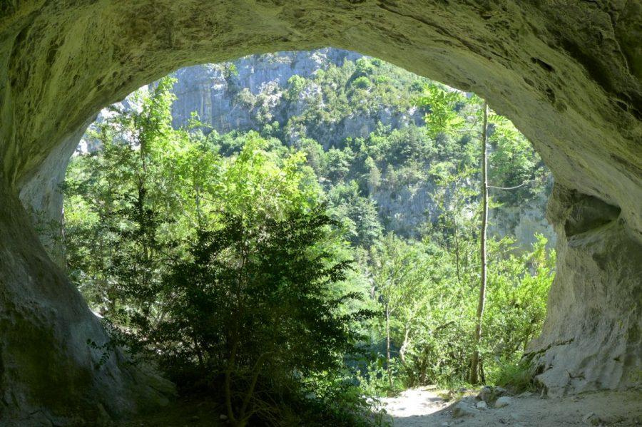 Boca de salida del tunel