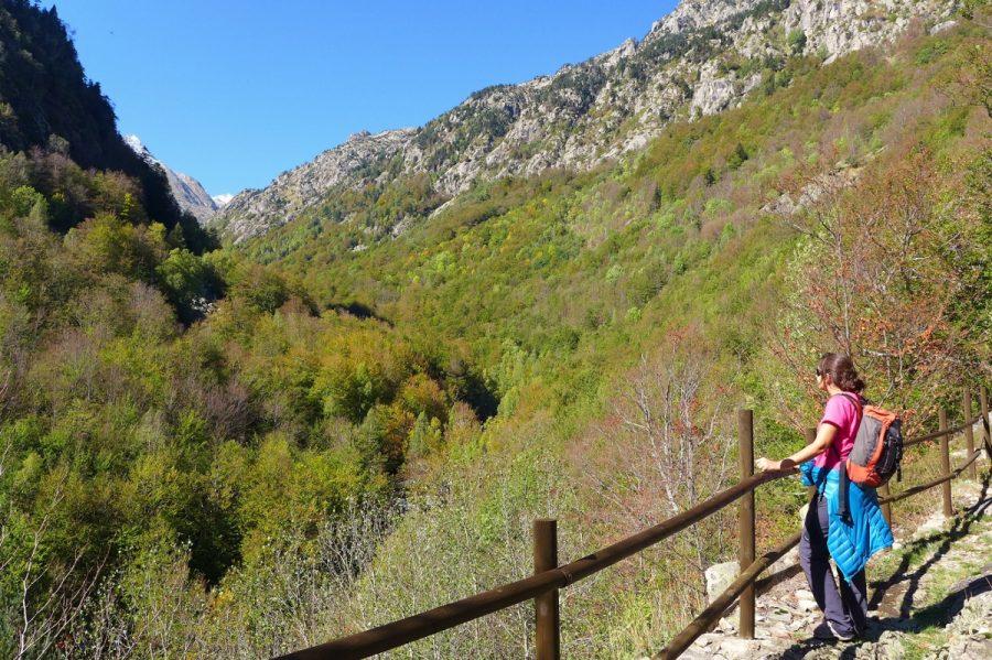 Valle de Salenques desde el mirador del Camino de la Solana