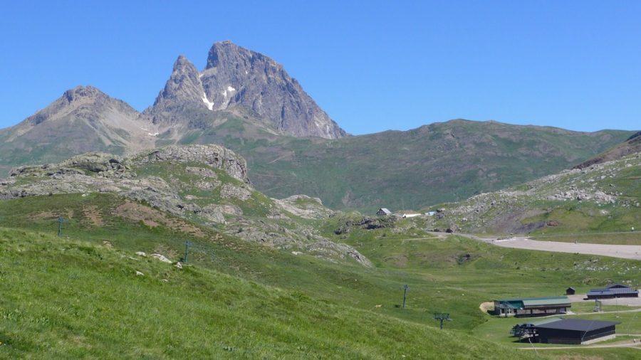 Vistas del Pico de Midi d´Ossau