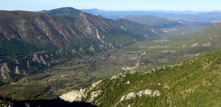 Cabecera del valle del río de Garona.