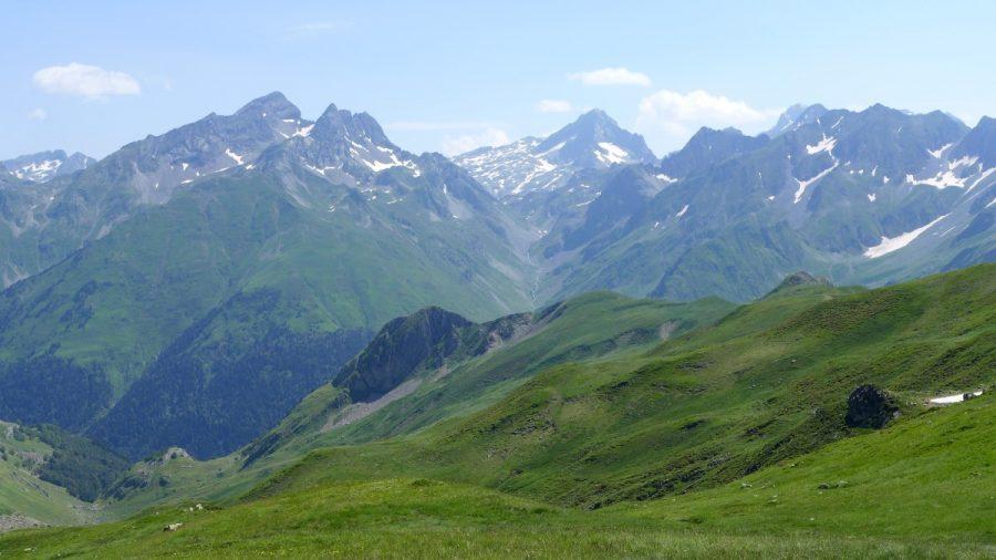 Vistas desde el Pico Soum de Pombie